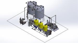 DI water system jumbo