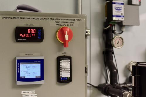 Control Panel USP Validated Water System