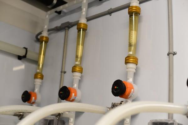 USP water loop piping